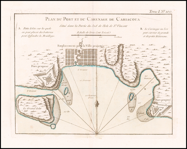 21-Other Islands Map By Jacques Nicolas Bellin