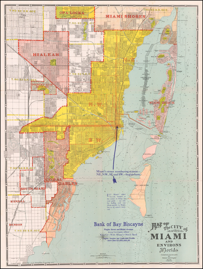 11-Florida Map By Sauer & Seghy