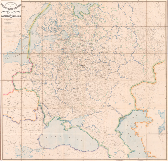 66-Russia Map By Russian Ministry of Communications