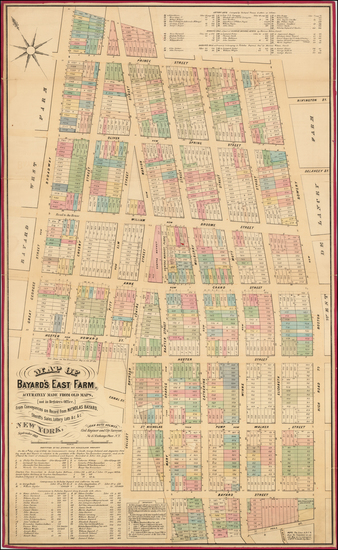 40-New York City Map By John Bute Holmes