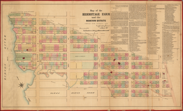 28-New York City Map By John Bute Holmes