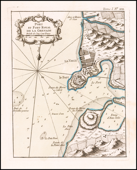 10-Other Islands Map By Jacques Nicolas Bellin