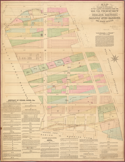 95-New York City Map By John Bute Holmes