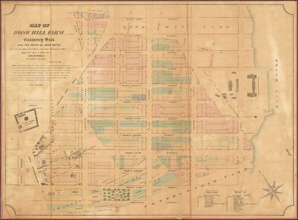 41-New York City Map By John Bute Holmes