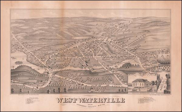 42-Maine Map By J.J. Stoner / Beck & Pauli