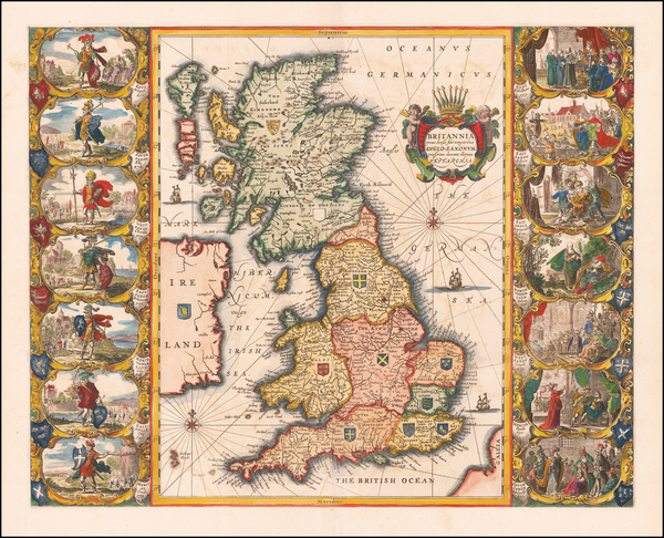 58-British Isles and England Map By Jan Jansson