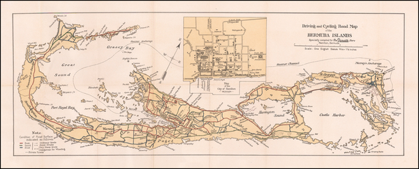 Antique maps of Bermuda - Barry Lawrence Ruderman Antique Maps Inc.