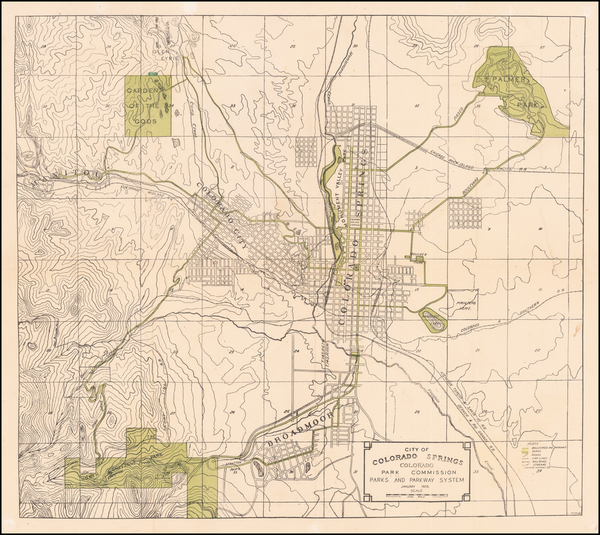 26-Colorado and Colorado Map By William Ellington