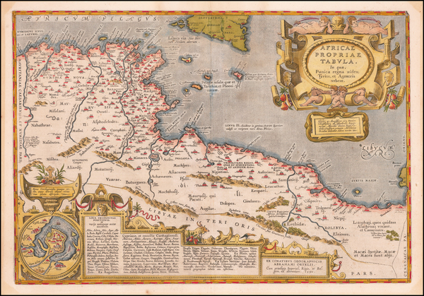 60- Map By Abraham Ortelius