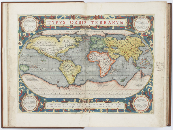 15-Atlases Map By Abraham Ortelius