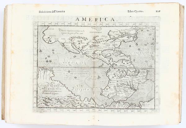 14-Atlases Map By Girolamo Ruscelli / Giuseppe Rosaccio