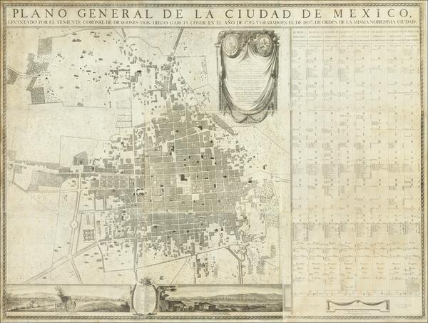 62-Mexico Map By Diego Garcia Conde