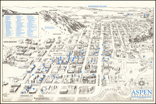 71-Colorado and Colorado Map By Curt Carpenter