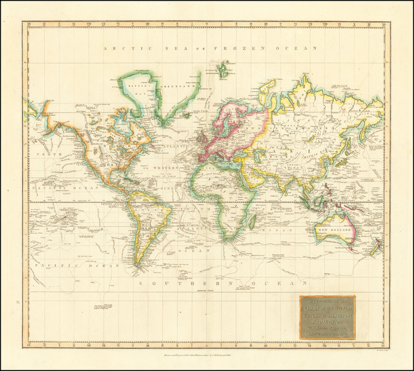 75-World and World Map By John Thomson