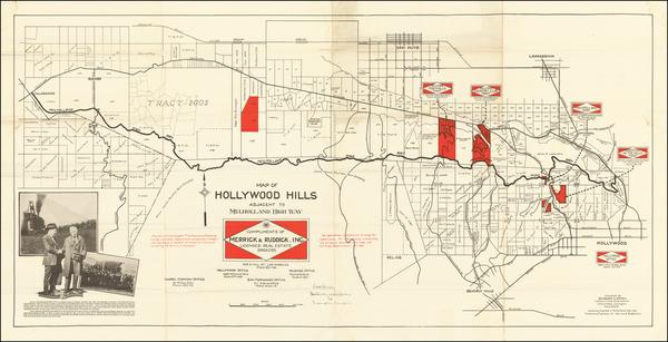 16-Los Angeles Map By Merrick & Ruddick Inc.