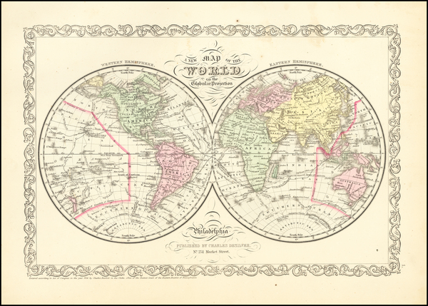 73-World Map By Charles Desilver