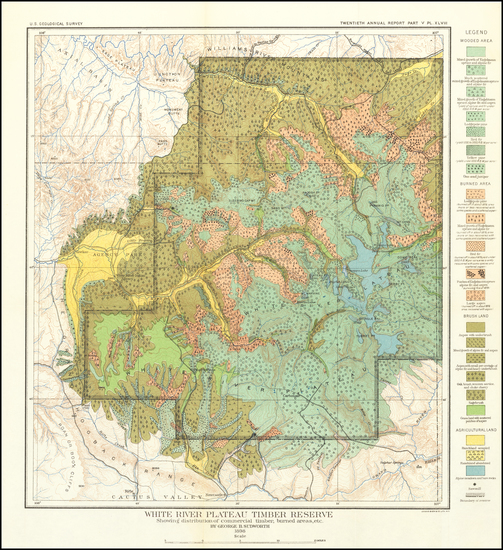 94-Colorado and Colorado Map By U.S. Geological Survey