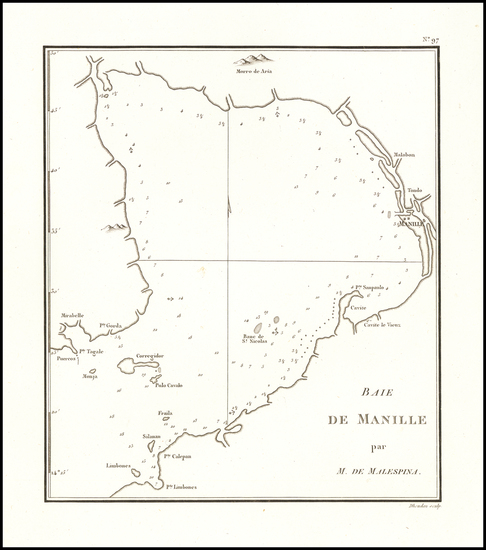 37-Philippines Map By Chretien Louis Joseph de Guignes