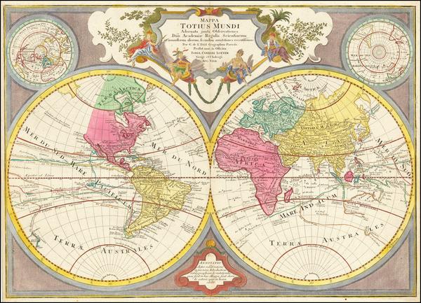 World Map By Tobias Conrad Lotter