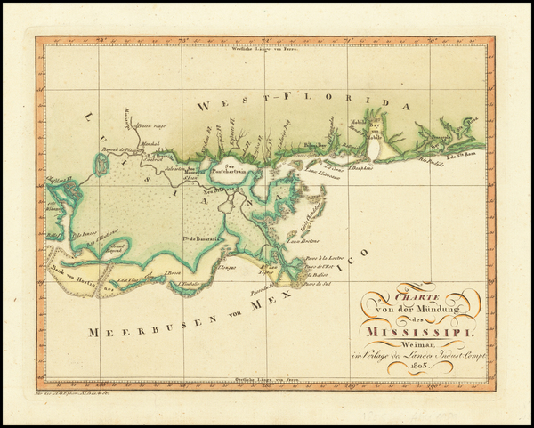 6-Louisiana Map By A.G. Ephram