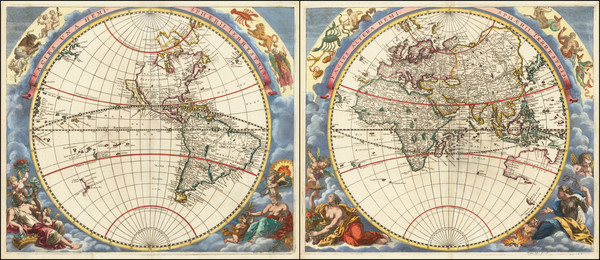 60-World and World Map By Moses Pitt