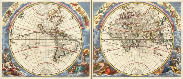 5-World Map By Johann Zahn