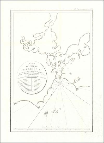 10-San Francisco Map By Jean Francois Galaup de La Perouse