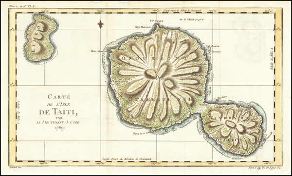 36-Other Pacific Islands Map By James Cook