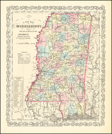 92-Mississippi Map By Charles Desilver