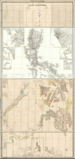 78-Philippines Map By Francisco Coello