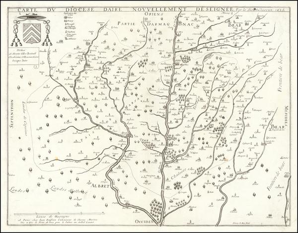 86-France Map By Jean Boisseau