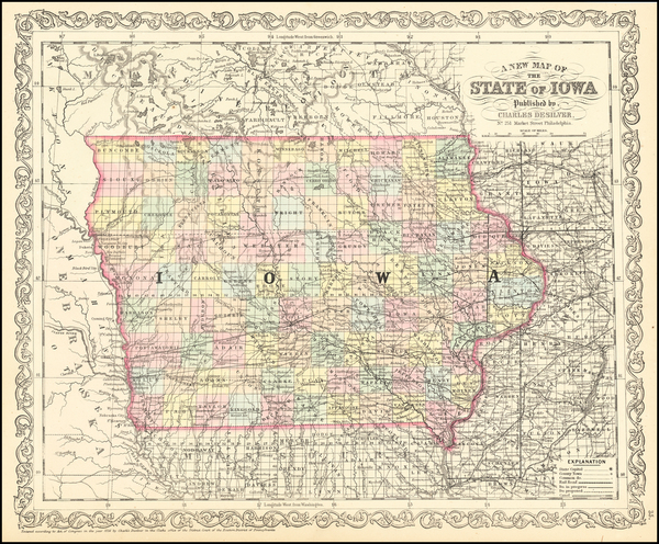 71-Iowa Map By Charles Desilver