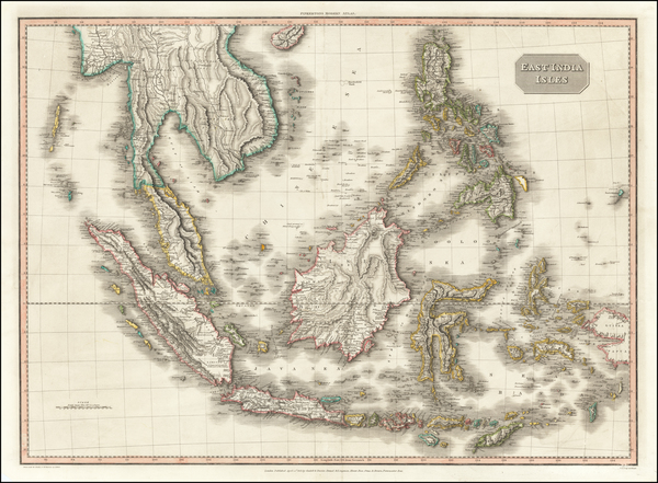 35-Southeast Asia, Philippines, Indonesia, Malaysia and Thailand, Cambodia, Vietnam Map By John Pi
