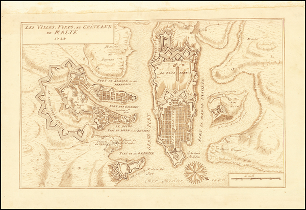 91-Malta Map By Anonymous