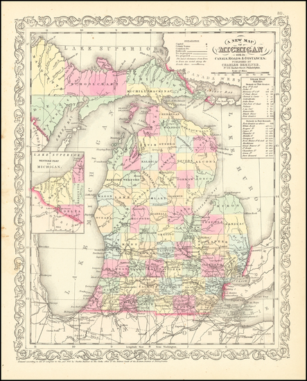 20-Michigan Map By Charles Desilver
