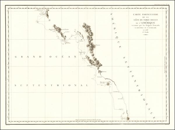 75-Canada Map By Jean Francois Galaup de La Perouse