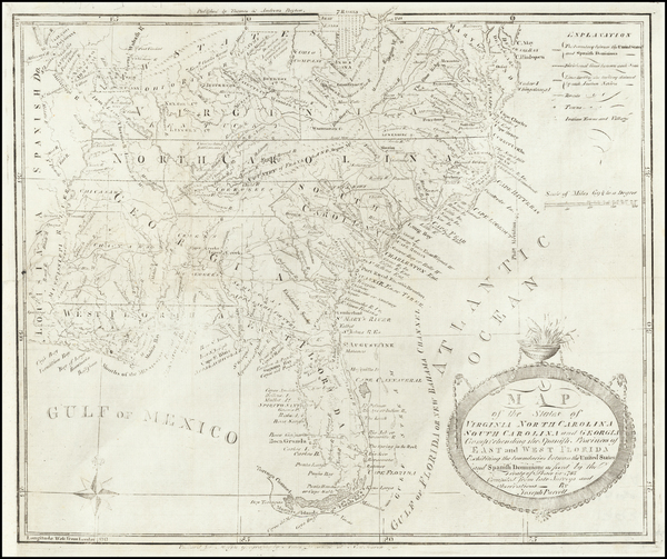 44-United States, Mid-Atlantic, South, Southeast and Midwest Map By Joseph Purcell