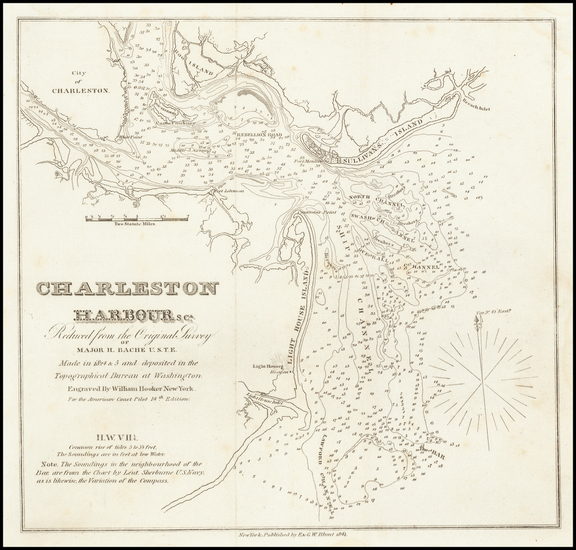 59-South Carolina Map By Edmund M. Blunt