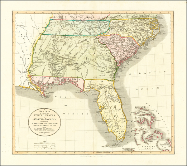 5-Florida, South, Alabama, Mississippi, Tennessee, Southeast, Georgia, North Carolina and South C