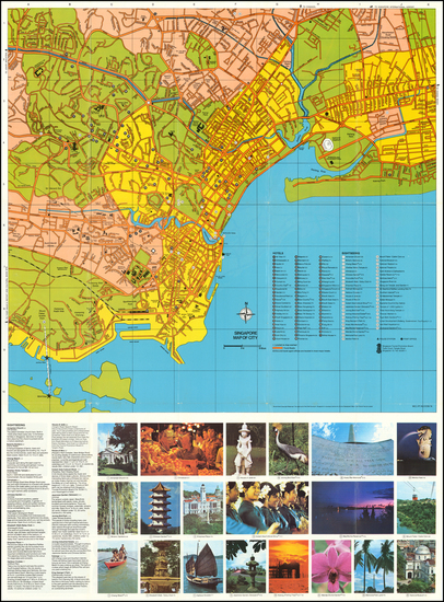 83-Singapore Map By Singapore Tourist Promotion Board