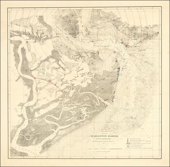 33-South Carolina Map By United States Coast Survey