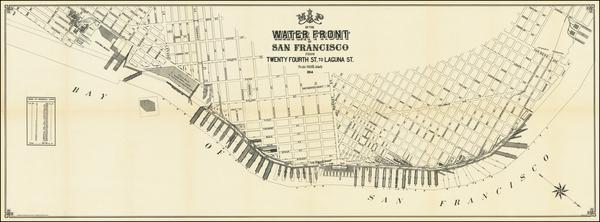 San Francisco Map By Britton & Rey