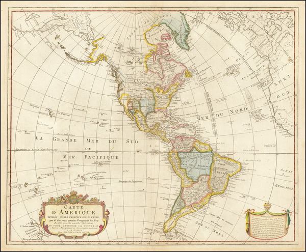 34-Pacific Northwest, Canada and America Map By Pierre Mortier Jr. / Johannes Junior Covens