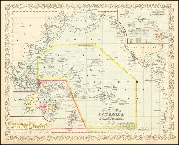 77-Pacific, Oceania and Other Pacific Islands Map By Charles Desilver
