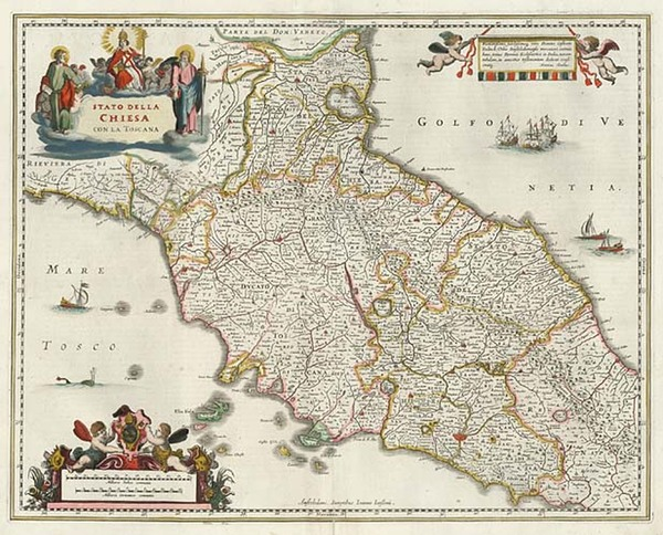 44-Europe and Italy Map By Jan Jansson