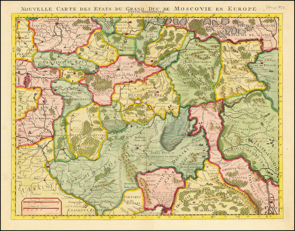 69-Russia and Ukraine Map By Henri Chatelain