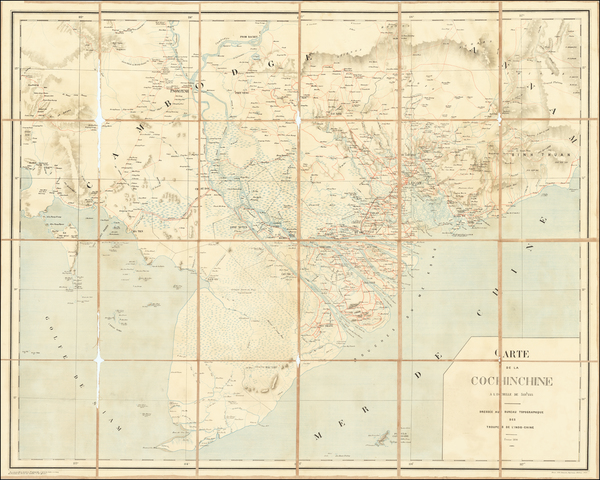 Southeast Asia Map By F. H. Schneider