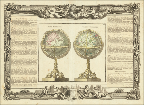 21-World and Celestial Maps Map By Louis Brion de la Tour / Louis Charles Desnos