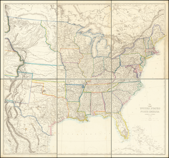 93-United States Map By Weekly Dispatch / Thomas Ettling