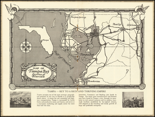 73-Florida Map By Tampa Board of Trade